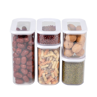 Stackable Cereal Food Storage Container Set