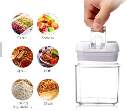 6 PCS Airtight Food Containers Storage