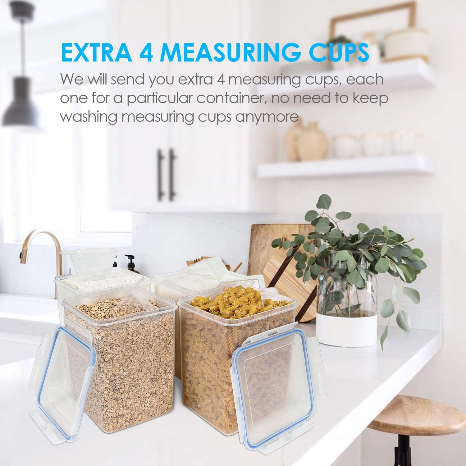 5.2L Large Food Storage Containers