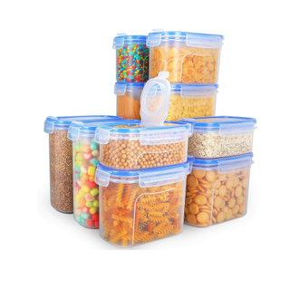 Clear Airtight Cereal Storage Container
