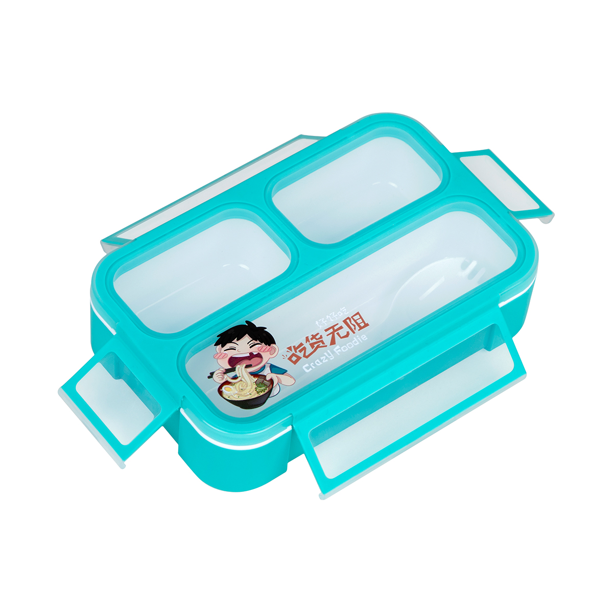 Kids bento lunch box 3 compartment