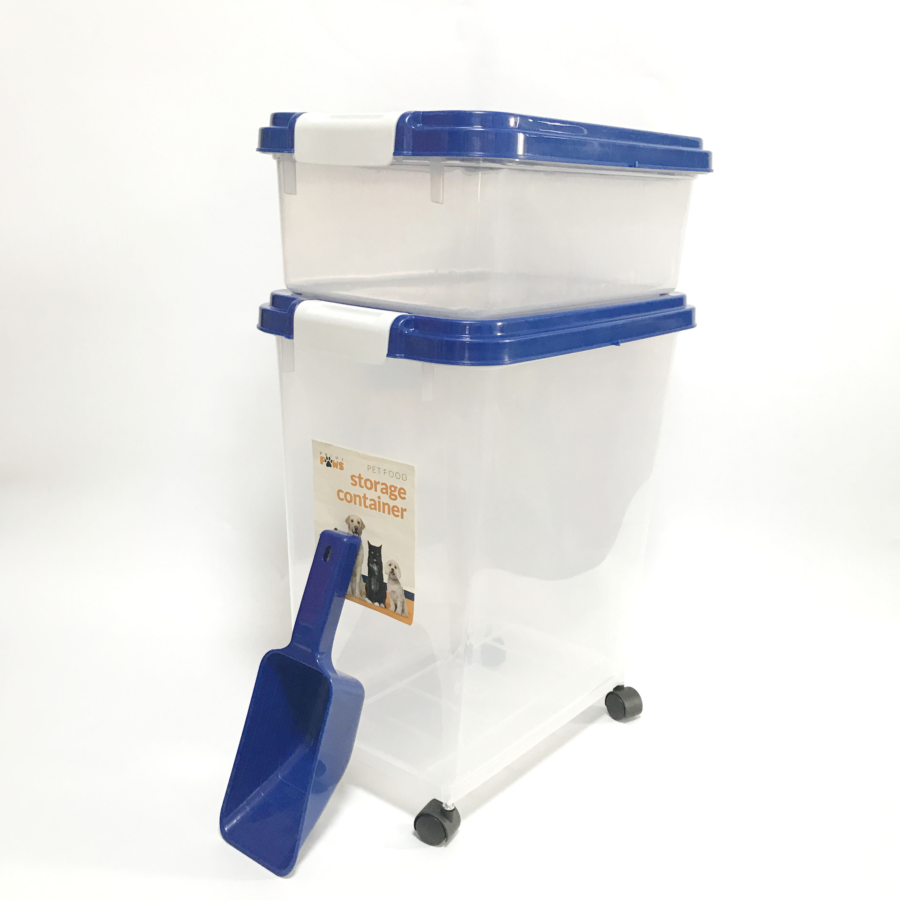 40L Pet Food Storage Container Set with Scoop