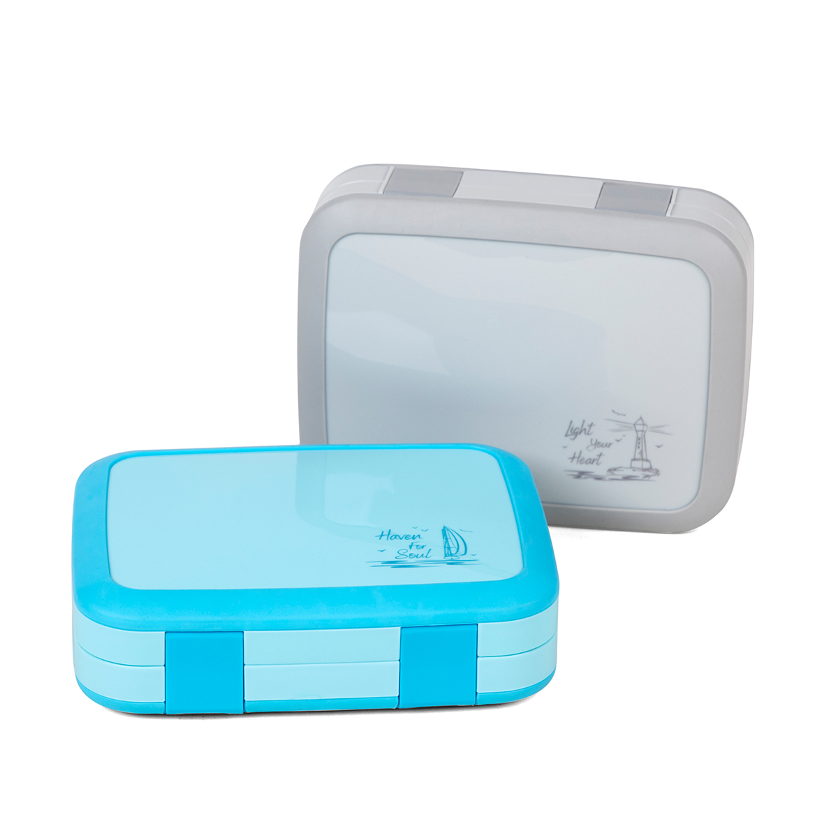 5 Compartments Kids Lunch Bento Box