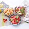 Round Leakproof Bento Lunch Box, food storage containers