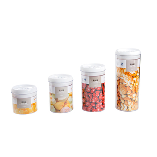 Single Food Storage Container with New Lids
